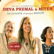 In Concert : Live CD and DVD - Deva Premal and Miten
